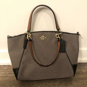 COACH Kelsey Exploded Rep Purse w/ Crossbody Strap
